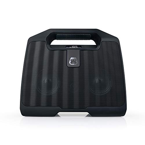 Price comparison product image G-Project G-Boom Wireless Bluetooth Boombox,  Rugged Outdoor Speaker,  Portable Speaker with Rechargeable Battery,  Worksite Radio,  Loud Powerful Bass (G-Boom 2.0)