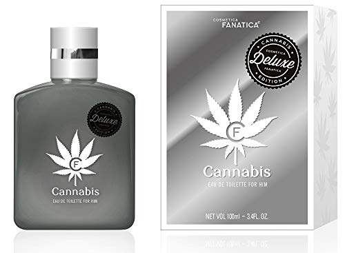 Cannabis Silver Deluxe Herren Parfüm EdT 100 ml Cosmetica Fanatica