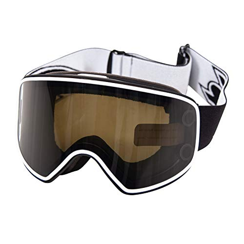 F2 G-Switch 800 Goggle 2020 Unisex SKI & SNOWBOARDBRILLE Black/White