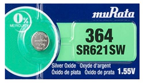 MURATA SR621SW (364) 海外パッケージ版 1個 [並行輸入品]