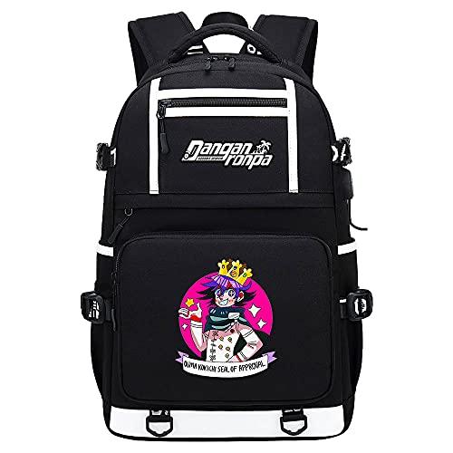Danganronpa: Trigger Happy Havoc Bag Anime Zaino Ragazzi Zaino Cartoon Scuola Borse Stampa A Colori Zaini Scuola