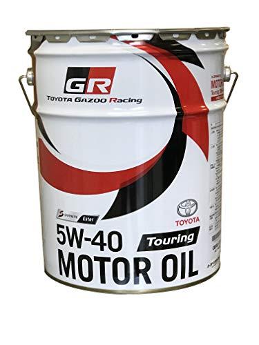 TOYOTA GAZOO Racing トヨタ純正 GR MOTOR OIL Touring 5W-40 20Lペール缶 エステル配合高性能全合成油エンジンオイル 08880-13003
