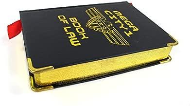 Judge Dredd Book of Law Props Replica Notebook Mega City 1