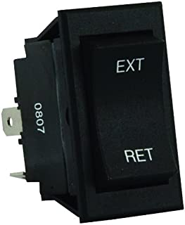 JR Products 13635 5th Wheel/Tongue Jack Switch