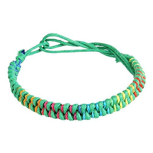 pinzhitibe tische bouddhiste faite à la main nœuds Bonheur Corde Bracelet corde chaîne Taille Ajustable