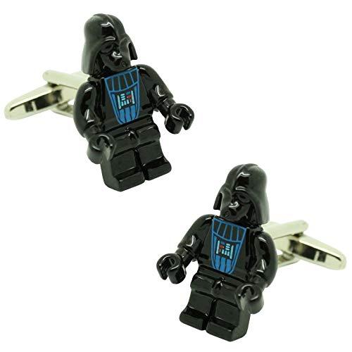 MasGemelos Weitere Manschettenknöpfe - Darth Vader Manschettenknöpfe Lego Star Wars Manschettenknöpfe