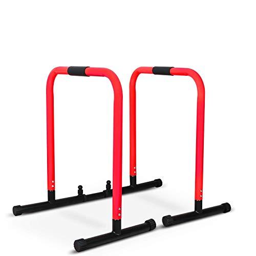 YEEGO DIRECT Sport Dip Station Barras, Ajustable Barras Paralelas, Push Up Bars de Entrenamineto Musculación Gimnasio Doméstico Casa