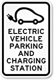 SmartSign 'Electric Vehicle Parking And Charging Station' Sign | 12' x 18' Aluminum