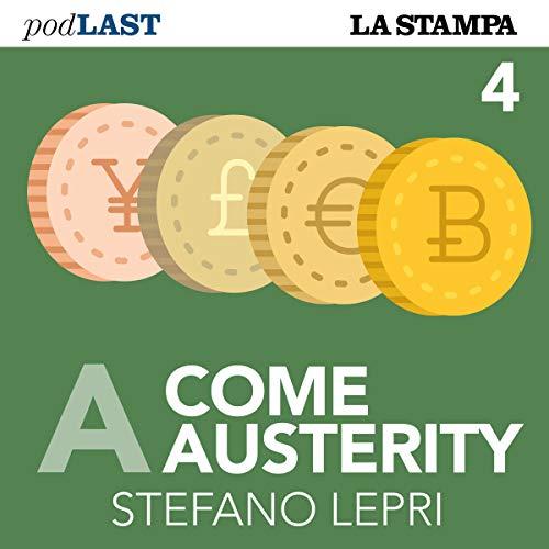 Debito (A come Austerity 4) copertina