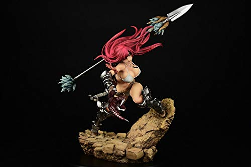 ORCATOYS Fairy Tail: Erza Scarlet, Knight Version, 1: 6 Scale PVC Figure