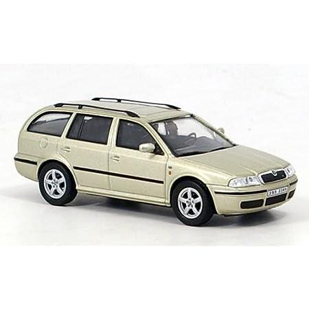 Skoda Octavia Combi Tour Met Beige Modellauto Fertigmodell Abrex 1 43 Spielzeug