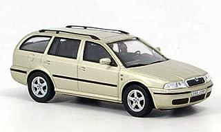 Skoda Octavia Combi Tour, met.beige, Modellauto, Fertigmodell, Abrex 1:43