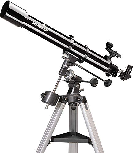 Sky-Watcher Newton 70/900-Telescopio, Montura Ecuatorial Eq1, Color Negro