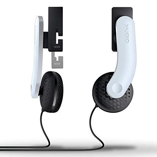 Bionik Mantis Attachable VR Headphones: Compatible with PlayStation VR, Adjustable Design, Connects Directly to PSVR, Hi-Fi Sound, Sleek Design, Easy Installation (Renewed)