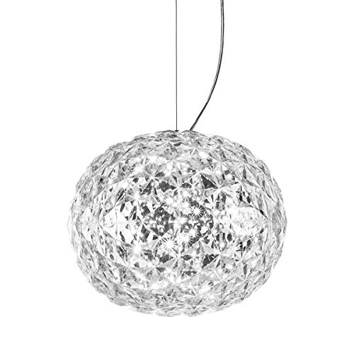 Kartell Planet, Suspension Lamp, Glasklar