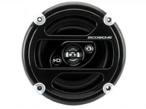 New Scosche HD6503 6.5 x 6.75 Inches 250-Watt 3-Way Speakers