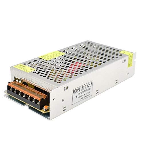 Baiyouli DC 5V 30A 150W Netzteil Schaltnetzteil Stromversorgung für LED Streifen