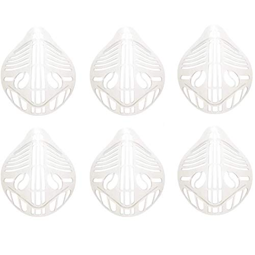 5/6 piezas 3D estéreo mascarilla titular lápiz labial marco protector mascarilla soporte...