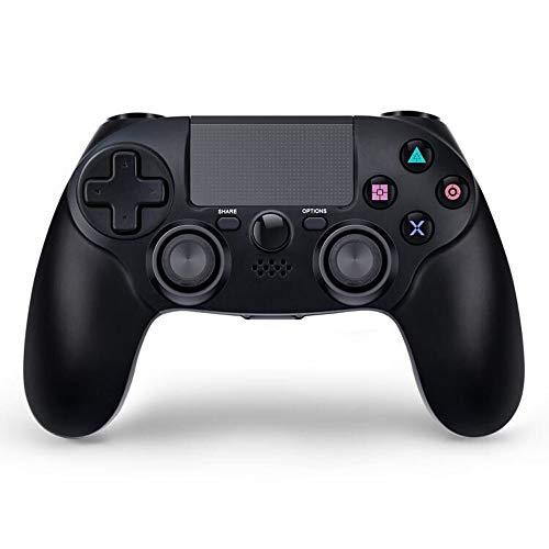 Kabelloser Controller für PS4, Bluetooth GamePad für Sony Playstation 4 Pro/Slim/PC, Dual Shock 4 Joysticks, 6-Achsen-Gaming-Fernbedienung mit Touch-Pad, hohe Präzision, keine Kopfhörerbuchse