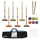 Best Croquet Sets - Maggift Six Player Croquet Set with Carrying Bag Review