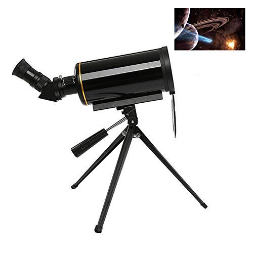KELUNIS Telescopio, telescopio astronómico, Potente 90/1000 de Enfoque Largo monocular con trípode & 5x24 Visor de Alcance para observar Estrella/Luna/Saturno/Júpiter