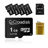 5pcsTarjeta Micro SD de 1 GB Tarjeta de Memoria MicroSD de 1 GB Clase 4, Venta al por Mayor