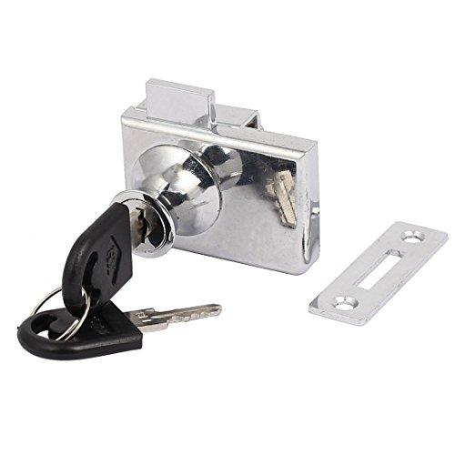 Aexit Metallverschraubte Schiebetürschwenkglas Türschloss Sicherheitsschrank Silberfarben (9763f68a26014ff72d9b5c0c8c17ab1d)