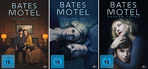 Bates Motel - Season One, Two & Three im Set - Deutsche Originalware [9 DVDs]