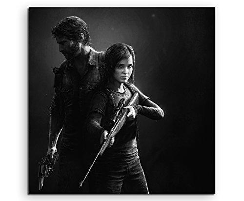 The Last of Us Remastered 2 Leinwandbild in 60x60cm Made in Germany! Preiswerter fertig gerahmter Kunst-Druck zum Aufhängen - tolles und einzigartiges Motiv. Kein Poster oder Plakat!
