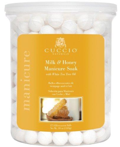 Cuccio Lait et Miel Manucure Soak Balles, 375-piece