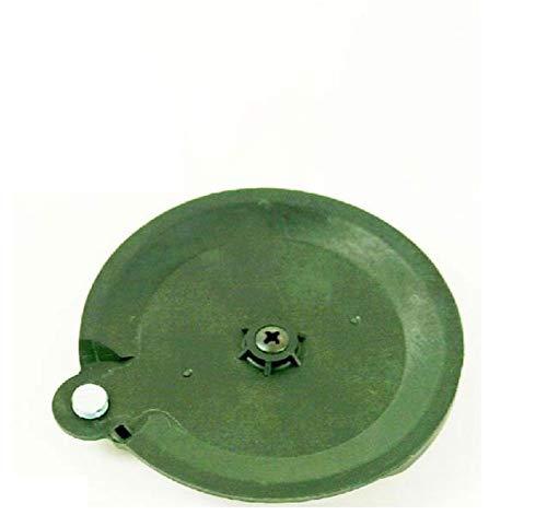 Grizzly Disco de corte Fat 18 B3 IAN 102971 Florabest LIDL con batería para cortabordes y soporte para cuchilla