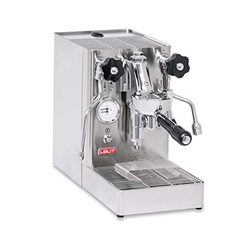 Lelit PL62X MaraX, Macchina da caffè Professionale con Gruppo E61, 1400 W, Acciaio Inossidabile, Argento