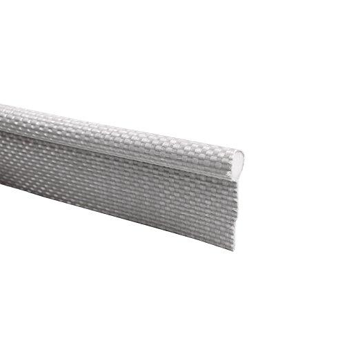 Caralife Keder Einzugkeder 7,5 mm weiß Pvc Gewebe 20mm Lasche, Zeltkeder Vorzelt (10)