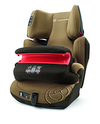Concord 2004 S.A. TFM0974P Kinderautositz Transformer Pro, Gruppe 1 / 2 / 3, 9-36 kg, walnut braun