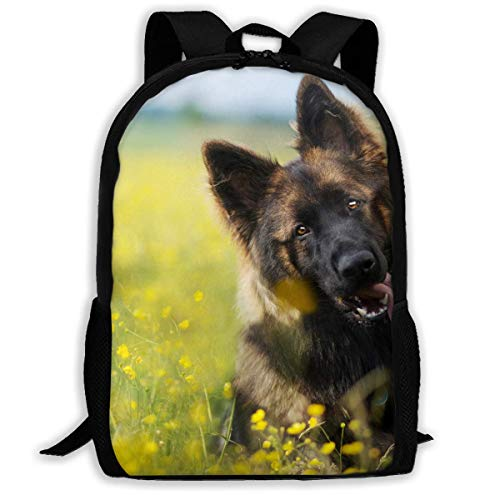 hengshiqi Rucksack Schultasche,Backpack, Travel Backpack Laptop Backpack Large Diaper Bag - German Shepherd Dogs Cute Backpack School Backpack for Women & Men