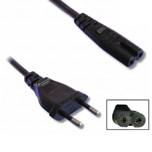 CARGADOR ESP Cable Alimentacion Luz Red Corriente Enchufe Conexion Tipo 8 Radio CD Videos 220V