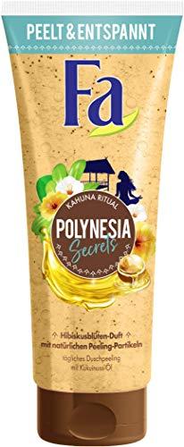 FA Duschpeeling Polynesia Secrets Kahuna Ritual mit natürlichen Peeling-Partikeln und Kukuinuss-Öl, 1er Pack (1 x 200 ml)