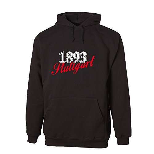 G-graphics 1893 Stuttgart Lightweight Hooded Sweat (078.241) (XL)