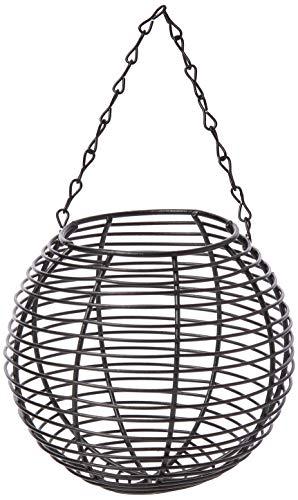 Nouveau Gardman grand acier noir Seed Feeder Oiseaux Sauvages Soins A01513