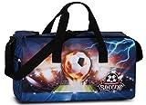 Fabrizio Football Kinder Sporttasche Soccer Marineblau Tasche 20602-0600