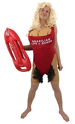 I Love Fancy Dress ilfd4533 brésilien Babs Lifeguard Costumes (Taille Unique)