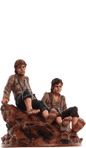 Lord of the Rings Senor de los Anillos Figurine Collection Nº 164 Frodo & Sam