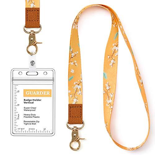 Lanyard with Name Badge ID Card Holder Bulk 24 Sets