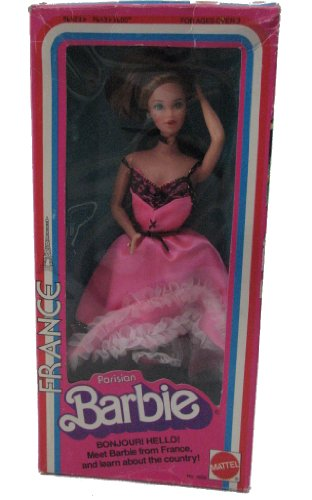 1979 Barbie Parisian France Dolls of the World International Series by Mattel