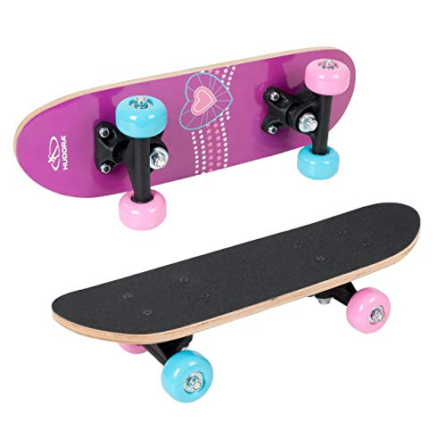 Hudora Mini Skateboard Ragazza XXS Skate Wonders, 12036