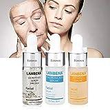 Hyaluronic Six Peptides Serum 24K Gold Antienvejecimiento + Acido Hialurónico y Secreción de Caracol Filtra Hidratación + Vitamina C Serum Whitening Skin Care Essence