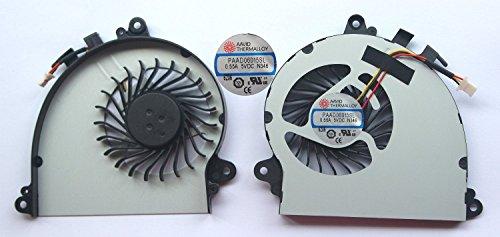 Nuevo portátil CPU ventilador de refrigeración para MSI Gaming GS70MS-17712pieza Stealth 2PE Stealth Pro 6QC 6QD 6QE Stealth serie paad06015sl-n346paad06015sl-n184paad06015sl-n229