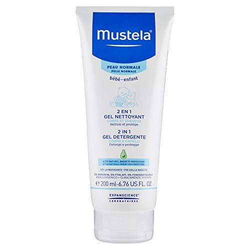 Mustela Detergente 2 in 1 Corpo e Capelli Neonati - 200 ml