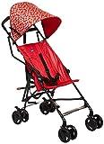 Chicco Snappy Passeggino, 6 mesi+, Leggero, Compatto, Ladybug, Rosso