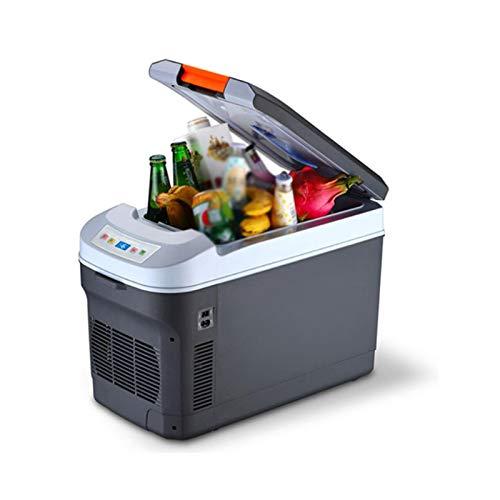 Mini Frigorífico, 22L Mini Refrigerador Compacto, Refrigerador Portátil Refrigerador De Refrigerador Con Control De Temperatura Digital Bebida Frigoríficos Pequeños Para Autos En Casa(Color:Negro)